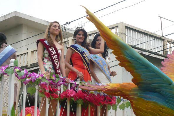 La Reina de belleza de Durán representaba a la provincia ecuatoriana de...