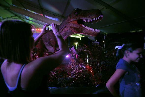 En 'Dinosaurios:una experiencia Jurásica' los niños pueden interactuar c...