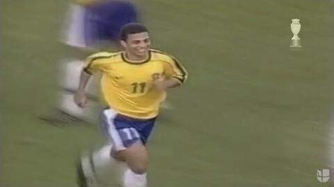 Los mejores goles de Copa América. #32 Alex a México. Paraguay 1999