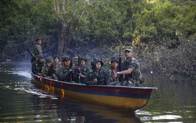 Según cifras oficiales las FARC tienen en sus filas a unos 7,000...