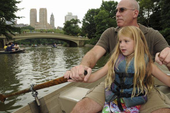 4. Nueva York: El Central Park es un sitio en el que se disfruta de rema...