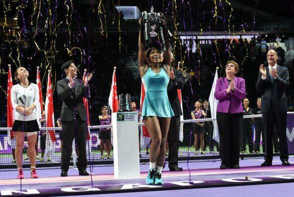 Williams ganó el US Open y el Torneo de Maestras, parte de sus si...