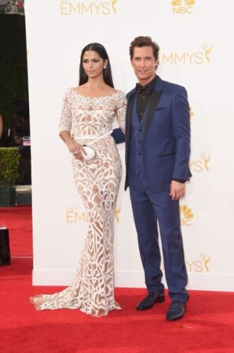 Matthew David McConaughey y Camila Alves una pareja que sí tiene mucho e...