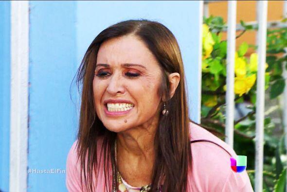 ¿Qué pasa doña Lupita? ¿Por qué está tan enojada?
