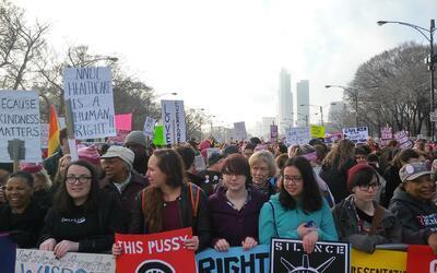 Marcha de Mujeres Chicago