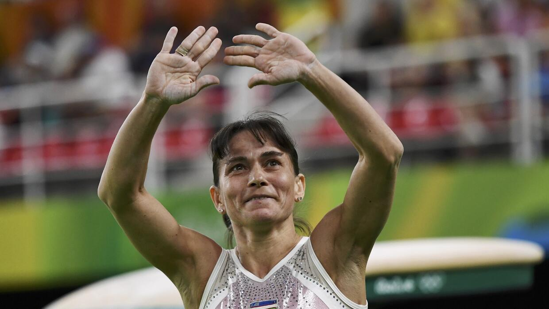 Oksana Chusovitina de Uzbekistan