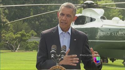 Obama entrega el primer balance de la incursión aérea en Irak
