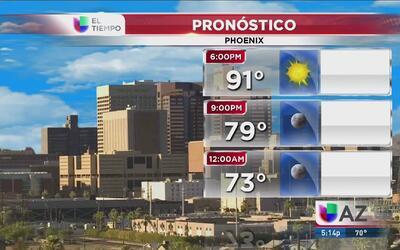 Calor, calor y más calor en Phoenix