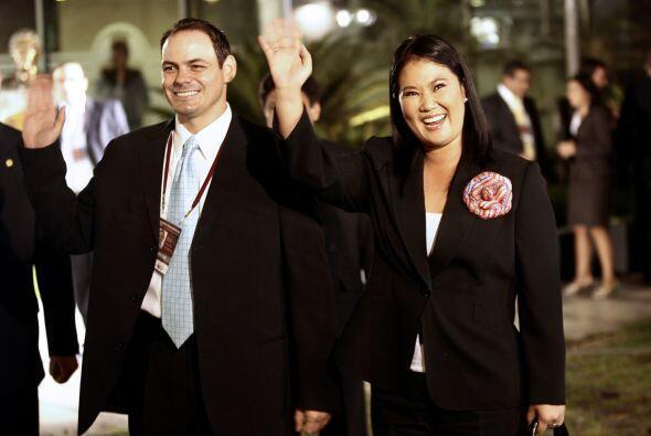 Keiko Sofía Fujimori se encuentra en el cuardo peldaño con un favorecido...