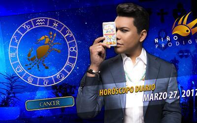 Niño Prodigio - Cáncer 27 de marzo, 2017