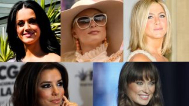 Cinco famosas han deleitado al público mexicano en lo que va del 2011.