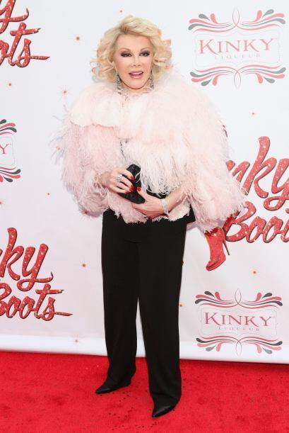 A sus 80 años, a Joan Rivers todavía le gusta estar a la v...