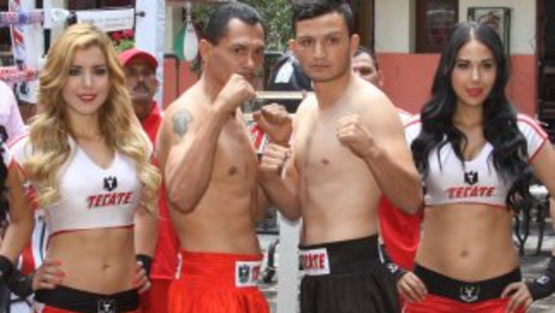 Gutiérrez y Villanueva en peso (Foto: Zanfer).