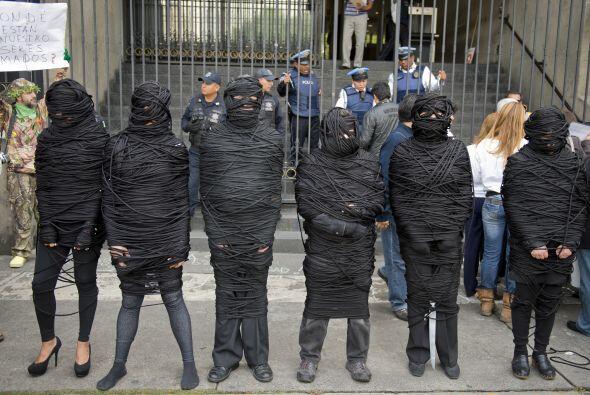 Víctimas de la violencia vinculadas con el Movimiento por la Paz con Jus...