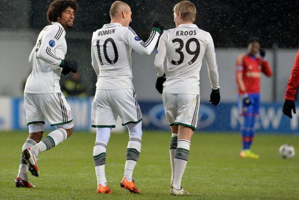 Horas antes, el Bayern Munich se metió al frío ruso para m...