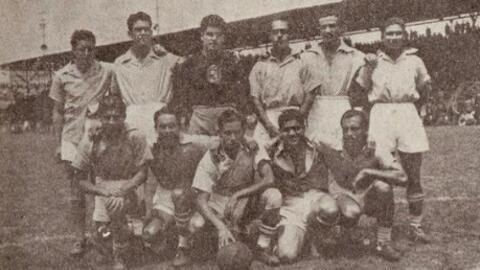 Unión Deportiva Moctezuma, campeón de Copa en la campaña 42-43.