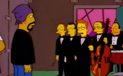 The Simpson's present Cypress Hill and the London Symphony Orchestra