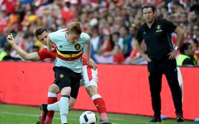 Kevin de Bruyne consiguió darle la remontada a Bélgica.