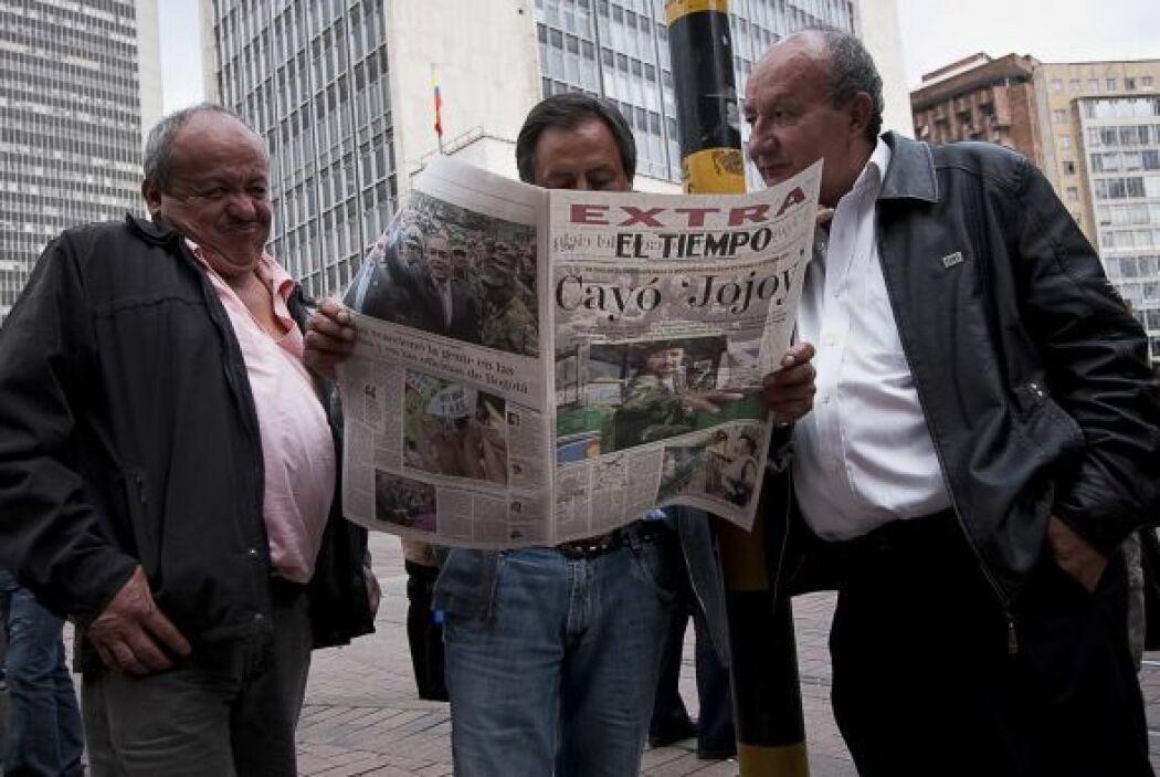 """Según Avila, el jefe militar de las FARC era """"muy pragmático"""". """"Empleaba..."""
