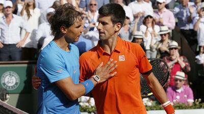 Djokovic destrona a Nadal y avanza a semifinales de Roland Garros GettyI...