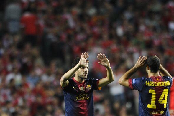 Barcelona estaba a punto de firmar su primer triunfo en casa dle Benfica...