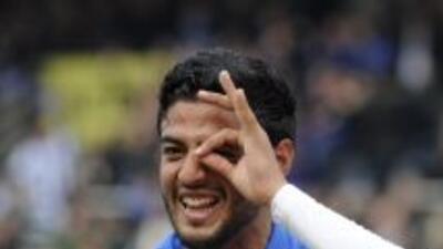 Carlos Vela abrió el marcador en el triunfo de la Real Sociedad 4 a 2 so...