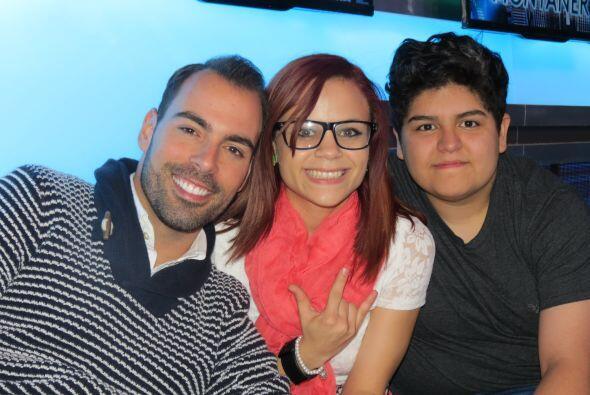 La mitad del #TeamDasa: Arias Martin, Ana Cristina y Stephanie.