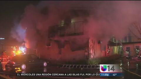 Incendio en Concord desplaza a por lo menos 30 personas