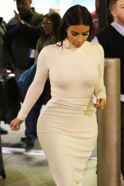 Como se podrán dar cuenta, Kim se ha aplicado mucho en el cuidado de su...
