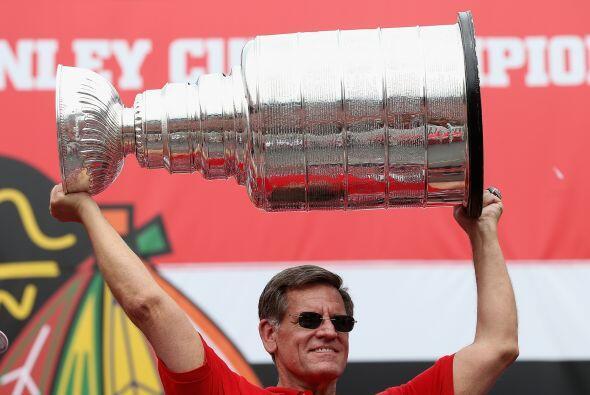 Y cómo no hacerlo si no todos los días se gana una Stanley Cup.