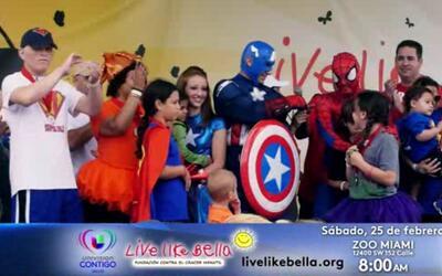 Live Like Bella 2017: Caminata de Superheroes