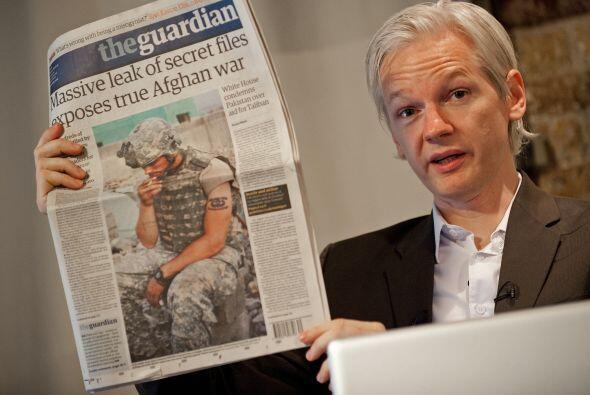 WikiLeaks causó un gran revuelo mundial cuando divulgó hac...