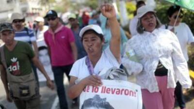 En Guerrero, donde se ha generado tensión a raíz de la desaparición de 4...