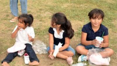 En esta ciudad ubicada al norte de Dallas, los niños disfrutan de los pa...