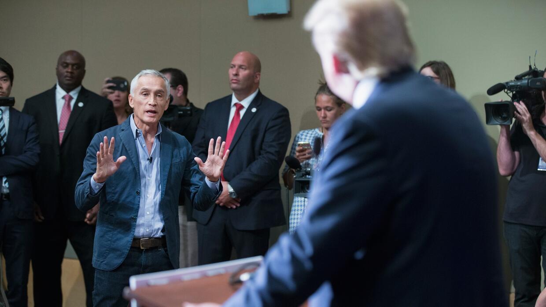 Sergio García-Ríos: el futuro de Trump y 'el efecto  Jorge Ramos' GettyI...