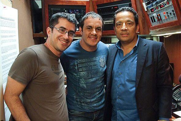 Cuauhtémoc Blanco llegó a Univision Radio en Chicago a hac...