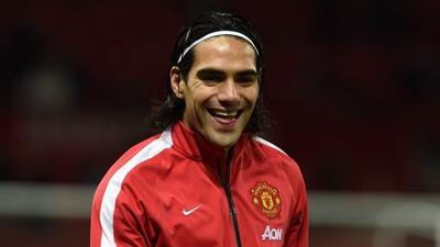 El delantero colombiano afirma que desea seguir como Red Devil.