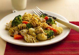 Pollo Campestre con Pasta: ara los amantes del pollo y las pastas les br...