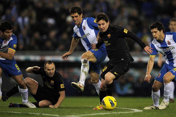 En más de una ocasión, el argentino falló ocasiones...