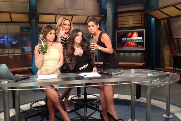 Compartimos con ustedes la receta del jugo verde que presentamos en nues...