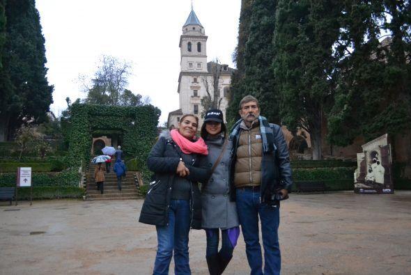 Recorrieron lugares sorprendentes de España como Toledo, Madrid, Granada...