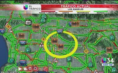 Reporte de tráfico: 4 de mayo