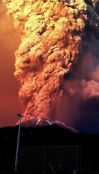 El Calbuco, sin embargo, es un volcán mucho más potente que el Villarric...