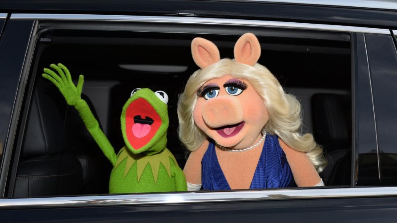 Rana René y Miss Piggy
