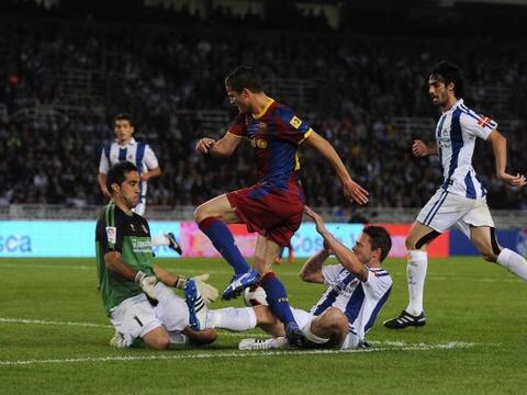 Barcelona enfrentó como visitante a la Real Sociedad. El equipo d...