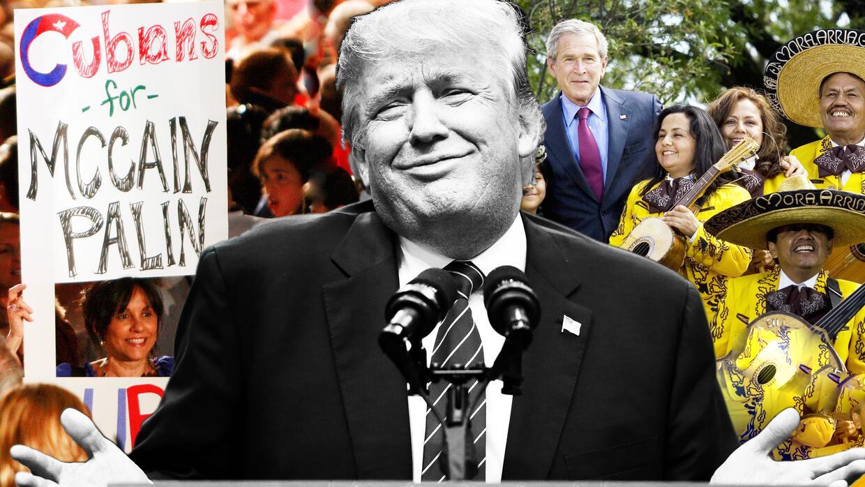 """Donald Trump ha dicho que en Estados Unidos """"se habla inglés"""""""