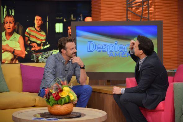 Raúl González le dio la bienvenida a esta estrella de Hollywood.