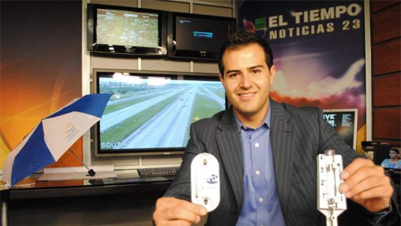Miguel Bedoy, presentador del Estado del Tiempo y el Tráfico, estará tod...