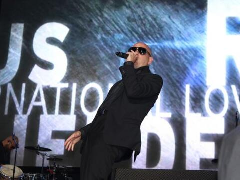 Pitbull en H2O Music Festival de Los Angeles