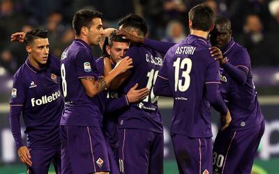 Fiorentina venció 2-1 al Palermo